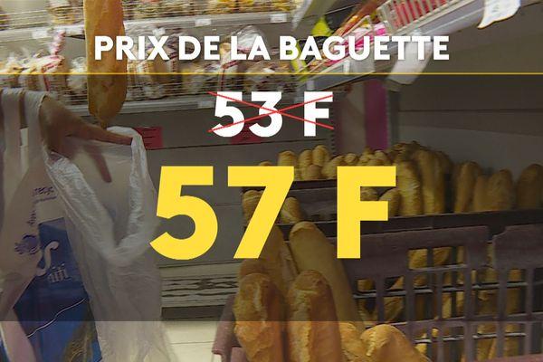 baguette prix