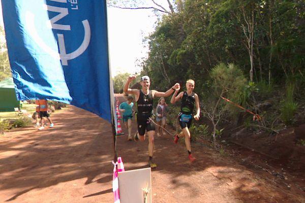 Gigawatt, victoire au trente kilomètres de Ludovic Lanceleur et Leslie Nowicki, le 1er août 2021.