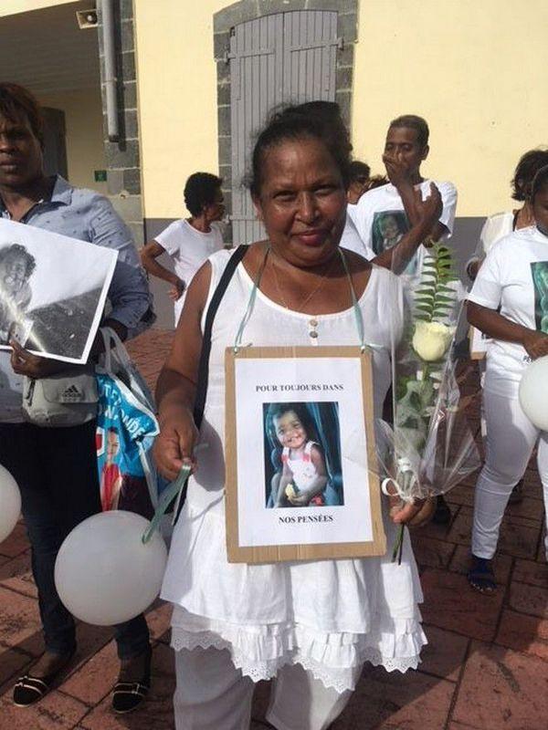 Marche blanche pour Eliana