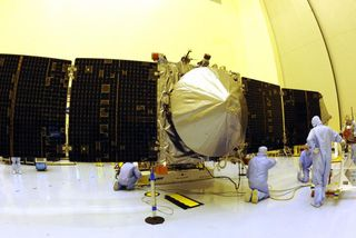 La sonde américaine Maven est en orbite autour de Mars