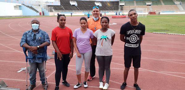 Handisport équipe Martinique