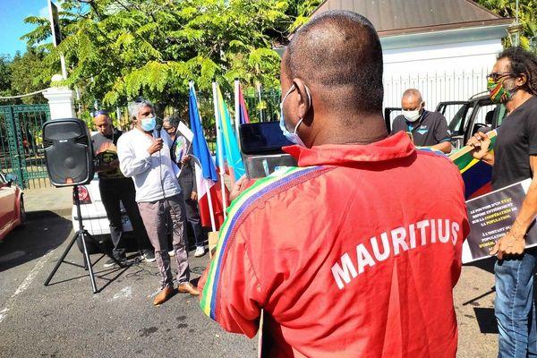 Mobilisation pour l' île Maurice