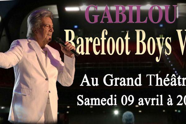 Gagnez deux invitations pour le concert de Gabilou !