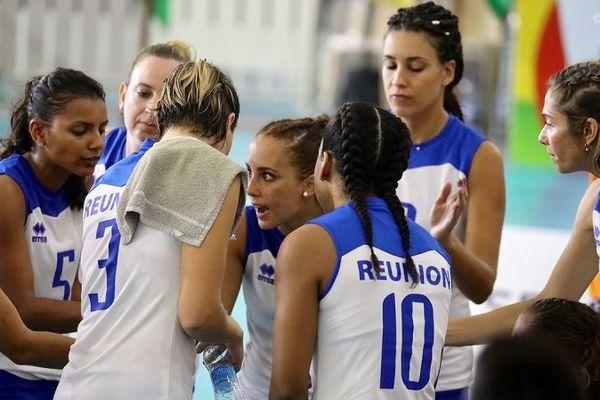 Les volleyeuses réunionnaises ont battu les Maldives 3 sets à 0.