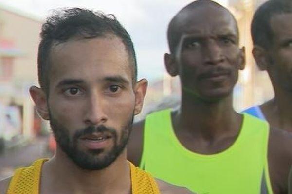 Mondhir Fékir, vainqueur de la 26ème édition des Foulées du Sud - Martinique