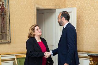 Sonia Backès rencontre le Premier Ministre fin juin 2019