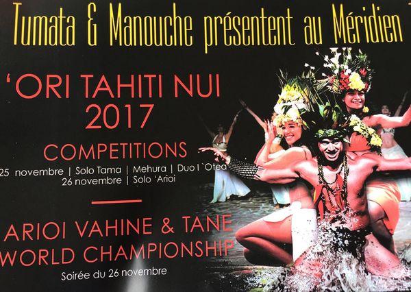 Ori Tahiti Nui : une compétition entre les meilleurs danseurs
