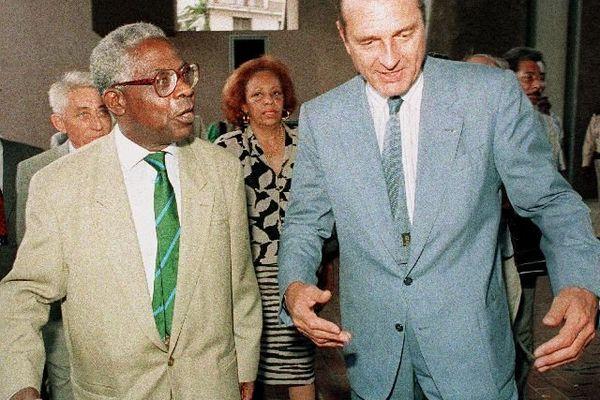 Avec Aimé Césaire 1987