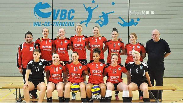 La Calédonienne porte le numéro 2 dans l'équipe du Val-De-Travers
