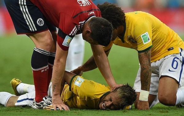 Blessure Neymar