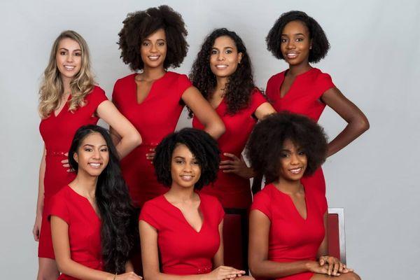 Candidates Miss Guyane 2020