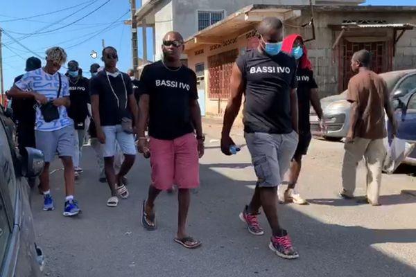 Marche spontanée et silencieuse Mtsapéré