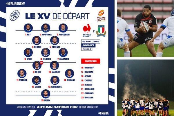 Sélection de Rodrigue Neti en XV de France