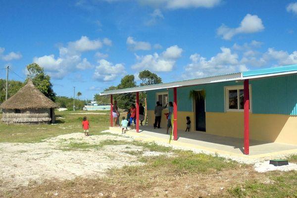 Maison d'accueil deu Secours catholique à Hnathalo, Lifou.