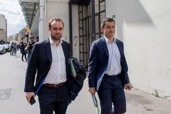 Sebastien Lecornu et Gérald Darmanin