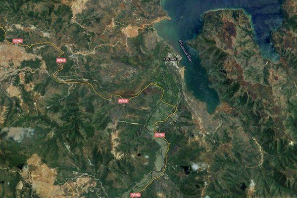 Kouaoua Google maps 280216