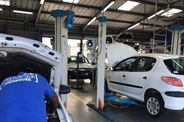 Un centre auto à Cayenne