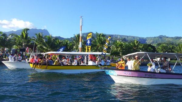 faati moorea - bateaux suiveurs