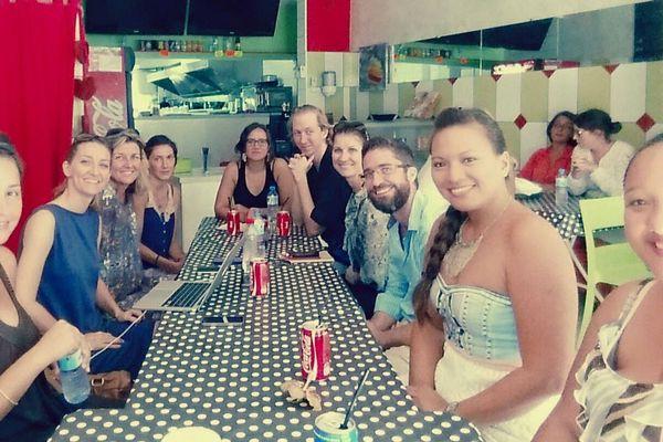 L'équipe bénévole de TEDxPapeeteWomen