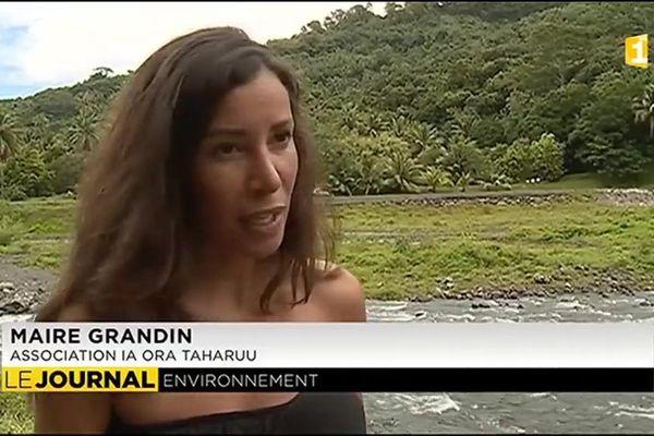 Colère des riverains de la Taharuu