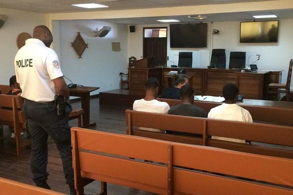 Evens au tribunal de Cayenne