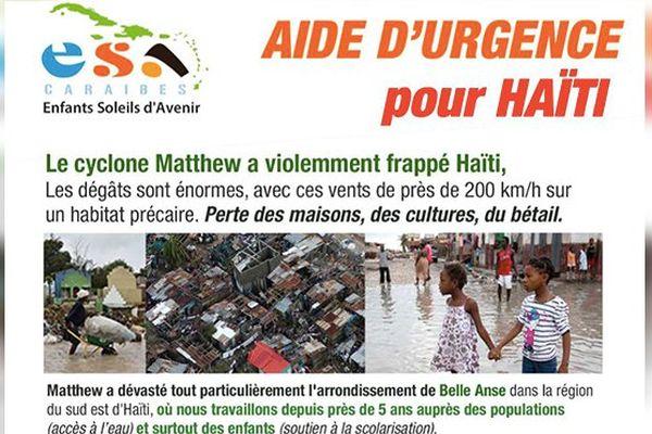 Aide humanitaire Haïti