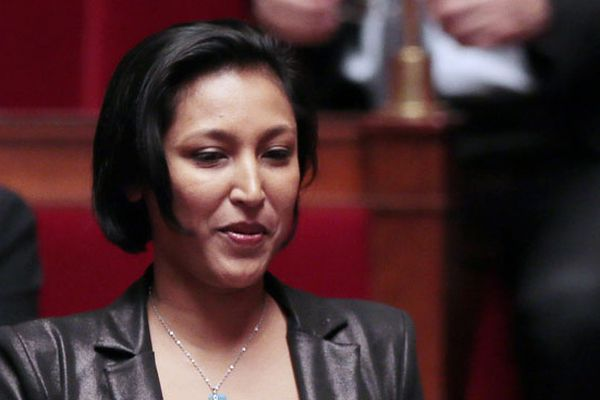 Corinne Narassiguin à  l'Assemblée