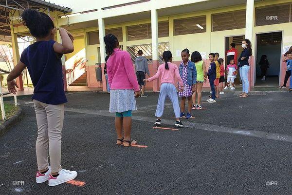 La rentrée scolaire du 22 juin à La Réunion.
