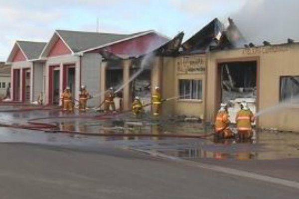Un incendie ravage les ateliers municipaux de Miquelon-Langlade