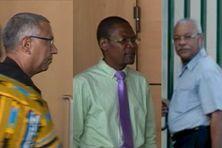 Éric Carpin, Kinvi Logossah et Fred Célimène, les trois professeurs d'Université.