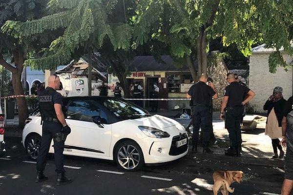 Une bagarre a éclaté en Bas de la Rivière, à Saint-Denis.
