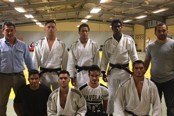 Photo délégation judo oceania tonga (25 avril 2017)