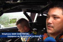 Stéphane Sam Caw Freve, vainqueur du 6ème rallye de la Plaine