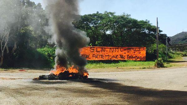 Fermeture du site SLN à Kouaoua, réaction des gens de Ouéna, 15 août 2018