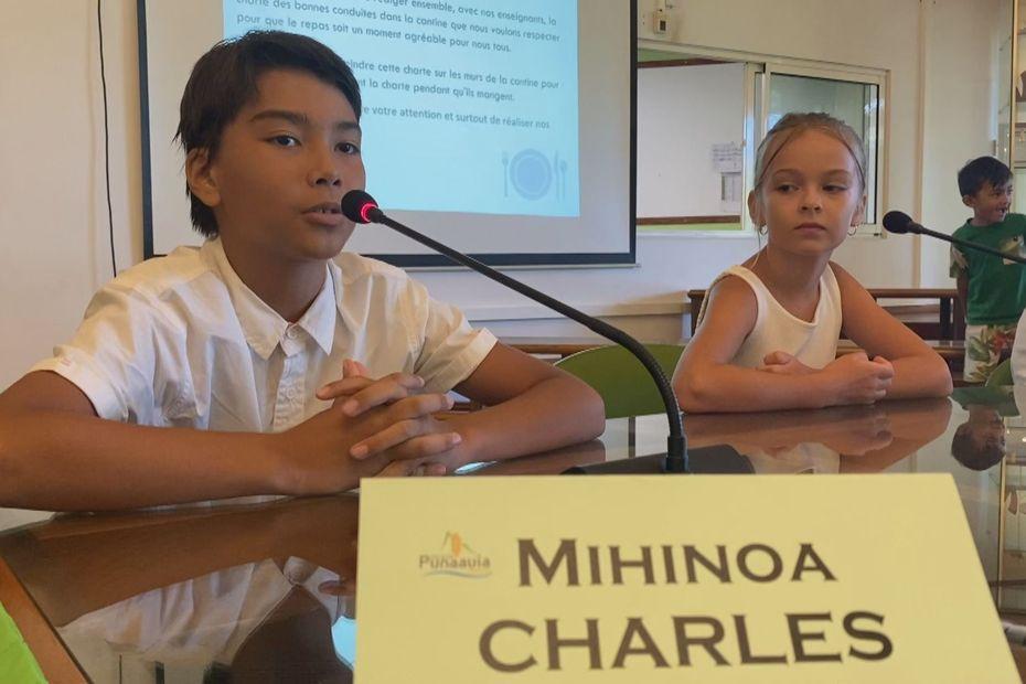 Les élèves de Punaauia revêtent la casquette de conseiller municipal - Polynésie la 1ère