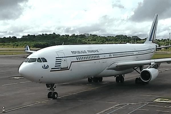 Piste de l'aéroport Félix Eboué de Cayenne
