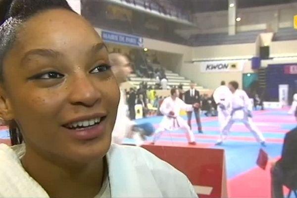 Lucie Ignace à l'Open de Paris