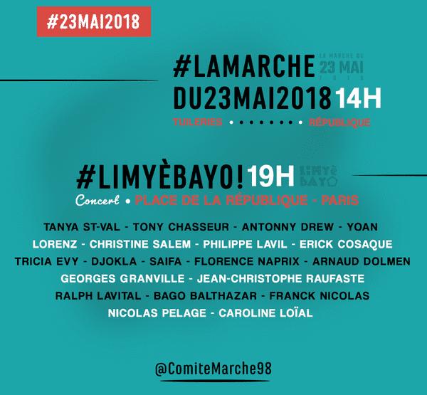 Programme concert 23 mai 2018