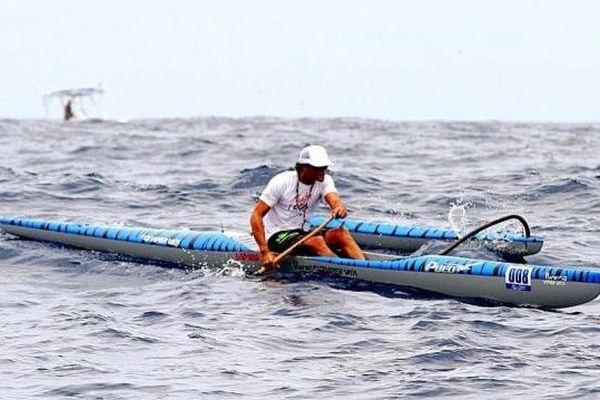 Steeve Teihotaata Molokai challenge 2014