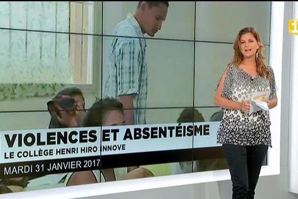 Collège Henri Hiro : le cloisonnement en réponse à l'incivisme scolaire