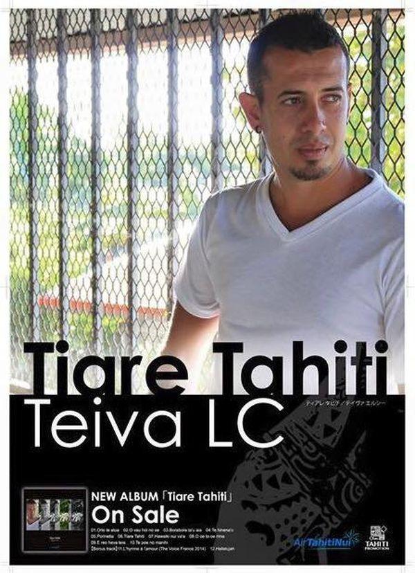 """Tiare Tahiti"", le nouvel album de Teiva LC"