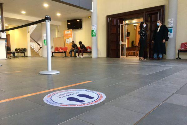 Le tribunal de St Pierre de nouveau ouvert au public