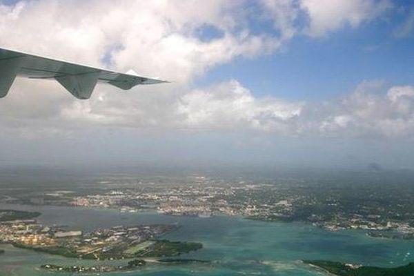 ciel de Guadeloupe - brume de sable