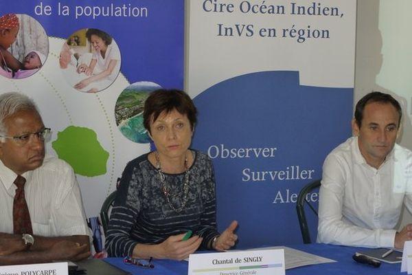 Chantal de Singly, directrice régionale ARS OI