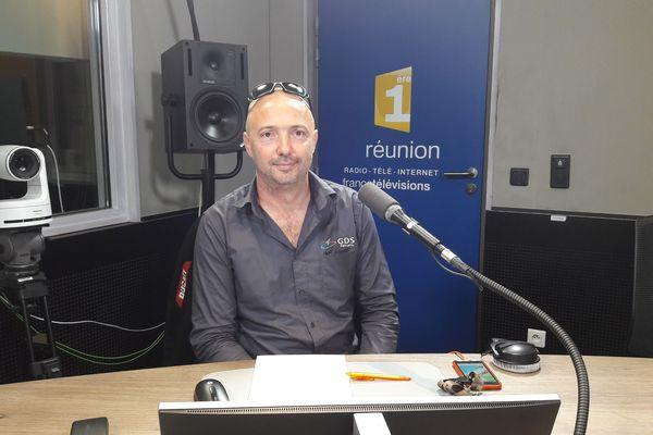 20180905 : Jérôme Huet, président du GDS de La Réunion