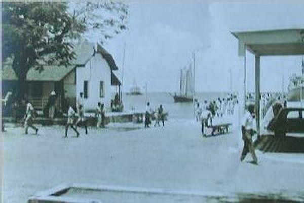 Le Port de Basse-Terre en 1960