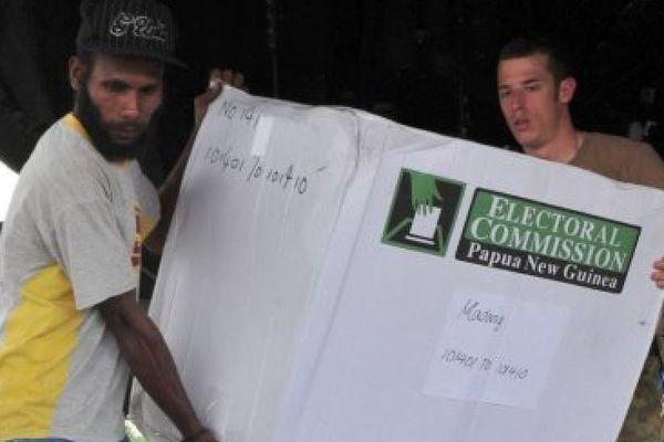 PNG élections
