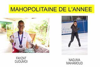 Nominées Mahopolitaines 2018 : Fayzat Djoumoi & Nadjma Mahamoud