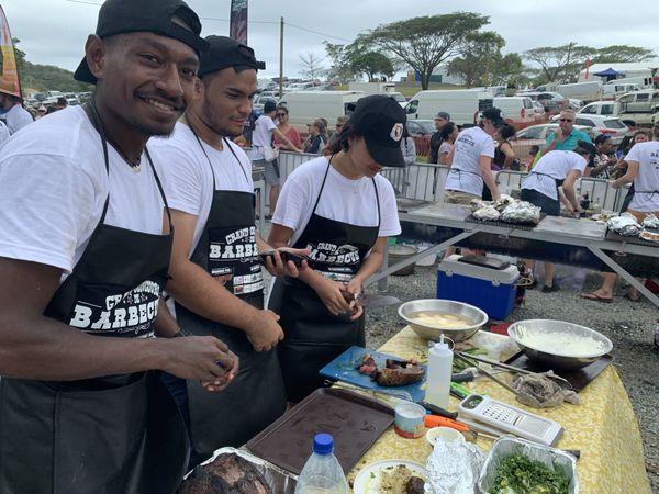 concours de Barbecue fête du boeuf Païta