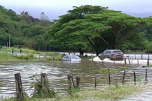 freda voiture inondée